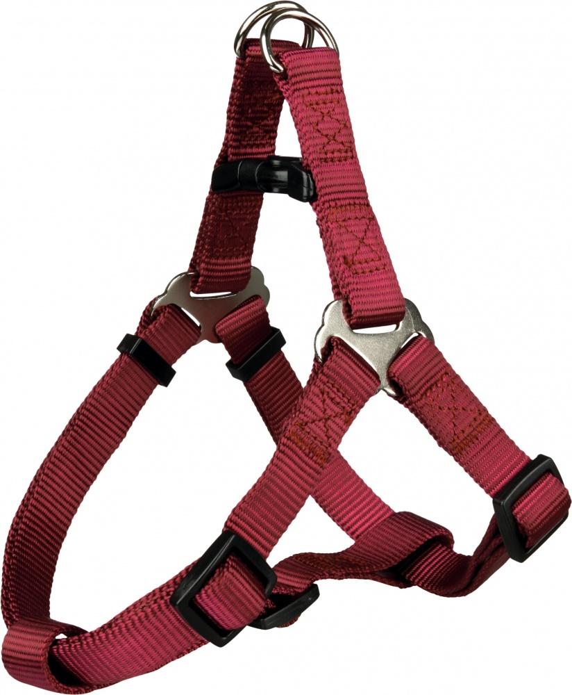 Шлея TRIXIE для собак Premium Harness,(M), 50-65 см/20 мм, бордовый