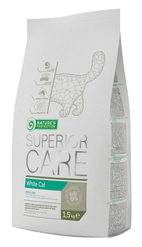 Корм натур протекшн для кошек белых пород (WHITE CAT)