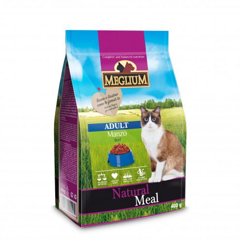 Корм Меглиум для взрослых кошек с говядиной (Meglium Cat Adult Beef)