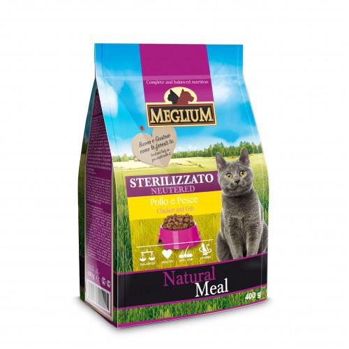 Корм Меглиум для взрослых стерилизованных кошек (Meglium Cat Neutered)