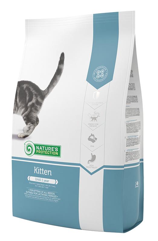 Сухой корм натур протекшн для котят (Kitten)