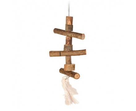 Игрушка для птиц TRIXIE натуральное дерево, 40 см