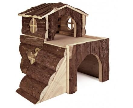 Домик для хомячков деревянный