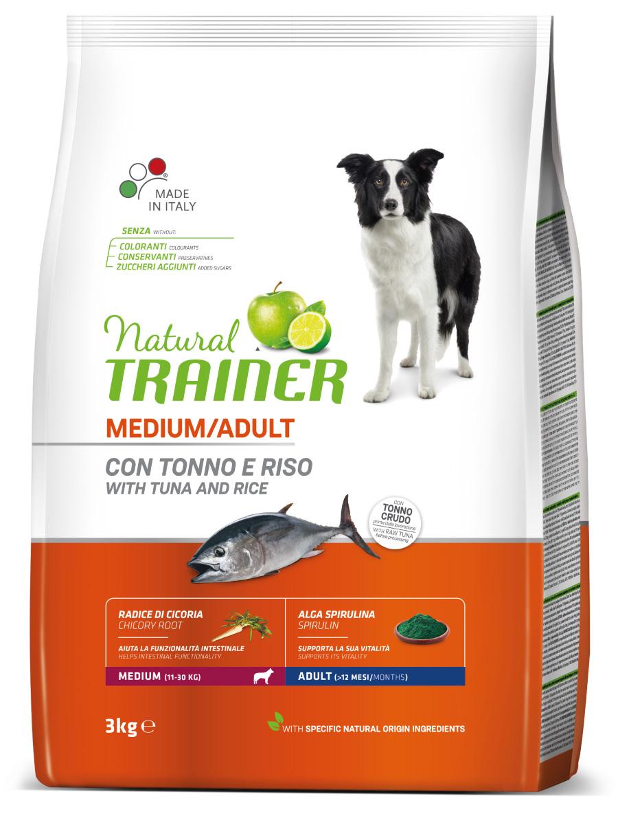 Сухой корм Трейнер для взрослых собак средних пород с тунцом (Trainer Adult Medium Tuna)