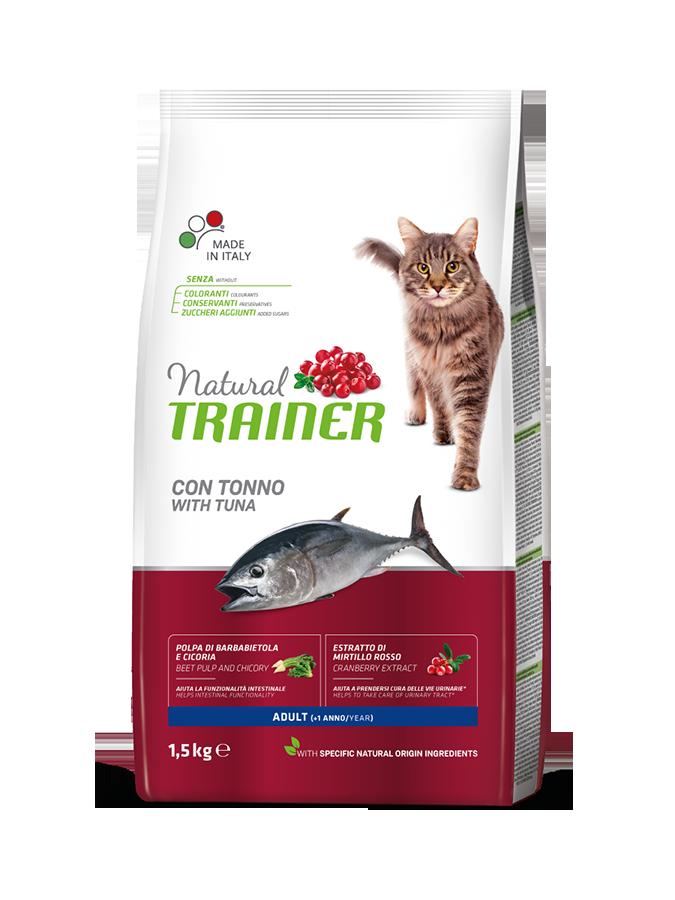 Сухой корм для взрослых кошек Трейнер с Тунцом (Trainer Adult Tuna)