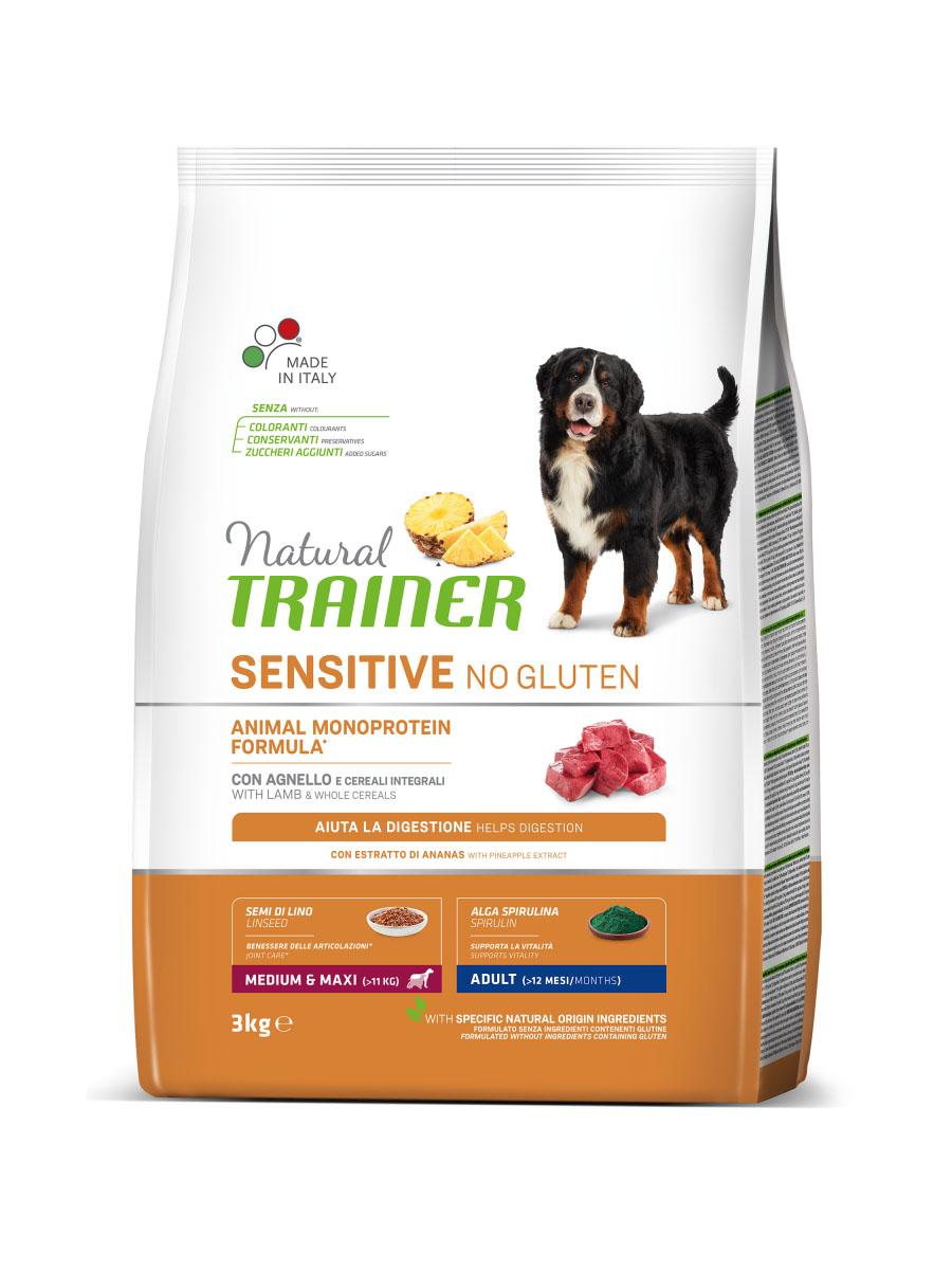 Сухой корм для взрослых собак средних и крупных пород Трейнер Фитнес Ягненок (TrainerAdult Medium/Maxi Lamb)