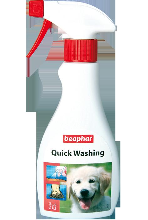Экспресс-шампунь Quick Washing для быстрого очищения кожи и шерсти, 250 мл