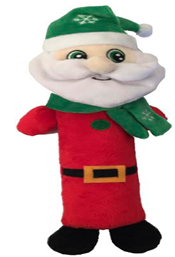 Игрушка плюшевая Тощий Санта 28*7,5*7,5 см