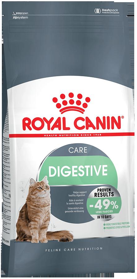 Корм для кошек Royal Canin Digestive Care (поддержка пищеварения). Роял канин Рыбные колечки