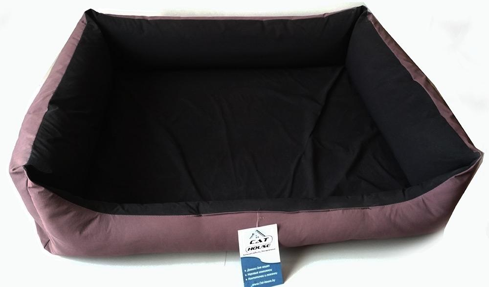 Лежак прямоугольный 2-х сторонний (плащевка+синтепон) 80 на 65 см