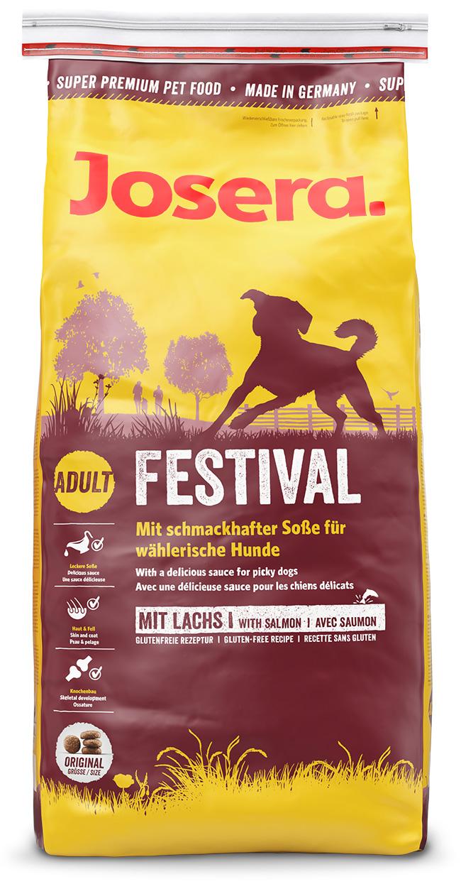 Сухой корм Йозера Фестайвал для привередливых собак Josera Festival