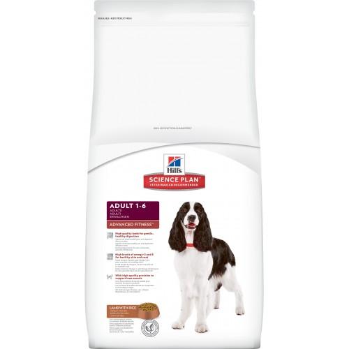 Корм для взрслых собак Хиллс ягненок с рисом (Hills SP Adult Lamb & Rice)