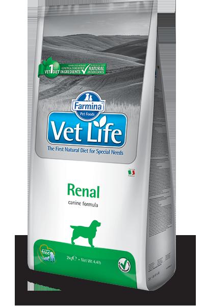 Сухой корм для собак Farmina Vet Life Renal (Почечная недостаточность) Фармина Вет Лайф Ренал