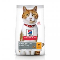 Корм Хилс для стерилизованных кошек с курицей (Hills SP Feline Young Adult Sterilised Cat Chicken) Image 0