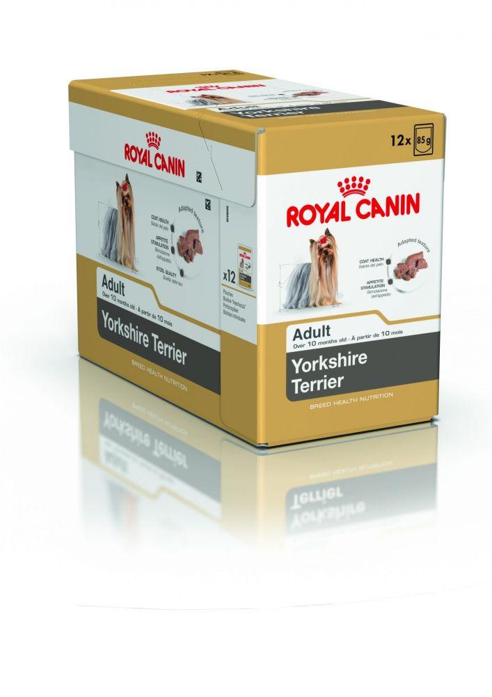 Влажный корм Роял Канин для Йоркширского терьера, паштет (Royal Canin Yorkshire Terrier Adult)