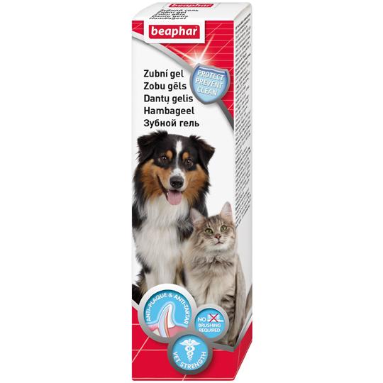 Зубной гель Tooth gel для кошек и собак, 100 гр